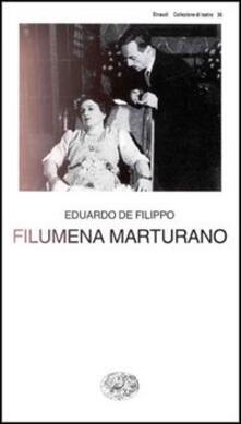 Filumena Marturano - Eduardo De Filippo - copertina