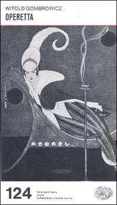 Operetta - Witold Gombrowicz - copertina