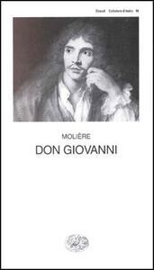 Don Giovanni o il convitato di pietra - Molière - copertina