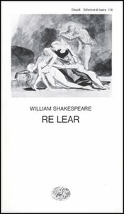 Libro Re Lear William Shakespeare