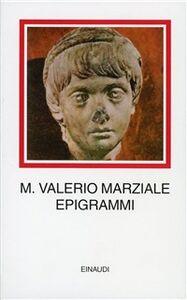 Foto Cover di Epigrammi, Libro di M. Valerio Marziale, edito da Einaudi
