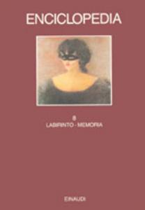 Libro Enciclopedia Einaudi. Vol. 8: Labirinto-Memoria.