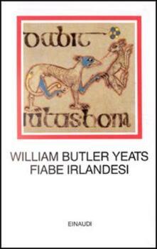 Fiabe irlandesi - William Butler Yeats - copertina