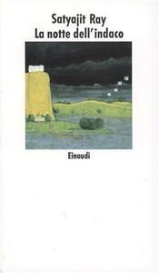 La notte dell'indaco - Satyajit Ray - copertina