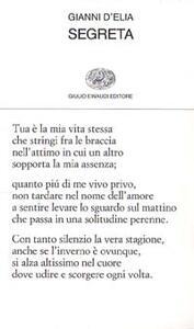 Segreta (1986-1987) - Gianni D'Elia - copertina