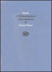 Vathek - William Beckford - copertina