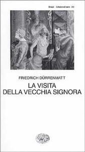 La visita della vecchia signora - Friedrich Dürrenmatt - copertina
