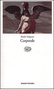 Libro Corporale Paolo Volponi