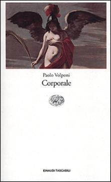 Corporale - Paolo Volponi - copertina