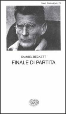 Finale di partita - Samuel Beckett - copertina