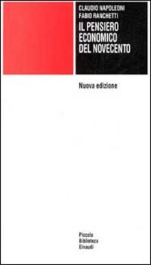 Grandtoureventi.it Il pensiero economico del Novecento Image