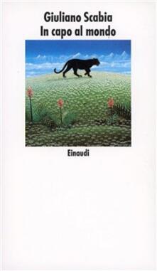 In capo al mondo - Giuliano Scabia - copertina