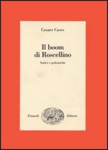 Il boom di Roscellino - Cesare Cases - copertina