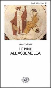 Donne all'assemblea - Aristofane - copertina