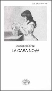 Libro La casa nova Carlo Goldoni