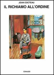 Il richiamo all'ordine - Jean Cocteau - copertina