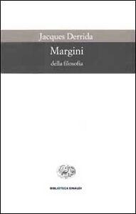 Libro Margini della filosofia Jacques Derrida