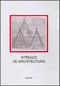 Libro De architectura Marco Vitruvio Pollione