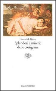 Splendori e miserie delle cortigiane - Honoré de Balzac - copertina