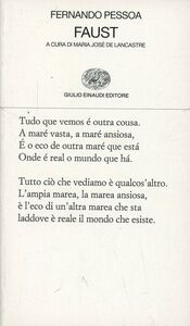 Libro Faust Fernando Pessoa