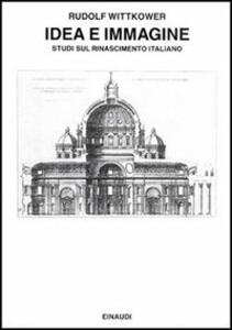 Idea e immagine - Rudolf Wittkower - copertina