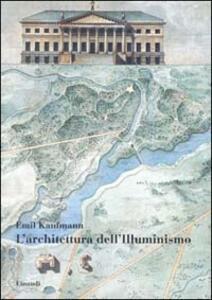 L' architettura dell'illuminismo - Emil Kaufmann - copertina