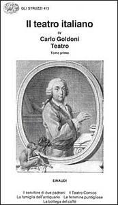 Il teatro. Vol. 1 - Carlo Goldoni - copertina