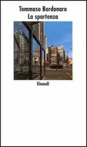 La spartenza - Tommaso Bordonaro - copertina