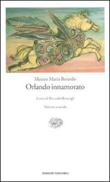 Orlando innamorato - Matteo Maria Boiardo - copertina