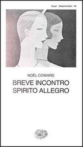 Breve incontro - Noël Coward - copertina
