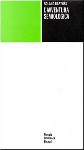 L' avventura semiologica - Roland Barthes - copertina