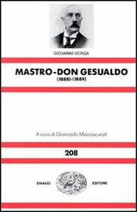 Mastro don Gesualdo (1888-89) - Giovanni Verga - copertina
