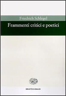 Antondemarirreguera.es Frammenti critici e poetici Image