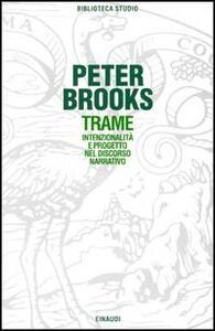 Trame - Peter Brooks - copertina