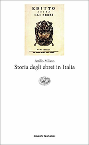 Libro Storia degli ebrei in Italia Attilio Milano