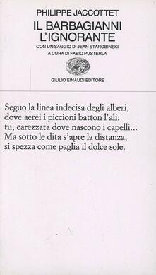 Vitalitart.it Il barbagianni. L'ignorante Image