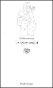 La specie umana - Robert Antelme - copertina
