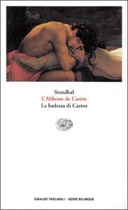 Libro L' abbesse de Castro-La badessa di Castro Stendhal