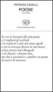 Libro Poesie (1974-1992) Patrizia Cavalli