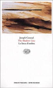 Libro The shadow-line-La linea d'ombra Joseph Conrad