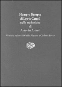 Humpty Dumpty - Lewis Carroll - copertina