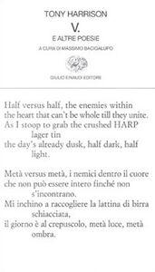 Foto Cover di V e altri versi, Libro di Tony Harrison, edito da Einaudi