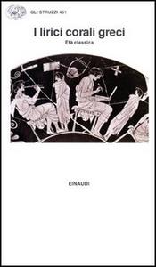 Libro I lirici corali greci. Età classica