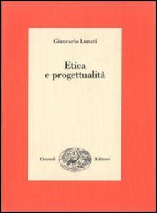 Libro Etica e progettualità Giancarlo Lunati