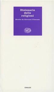 Dizionario delle religioni - copertina