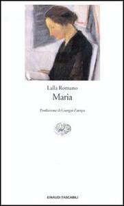Maria - Lalla Romano - copertina