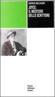 Warholgenova.it Joyce: il mestiere dello scrittore Image