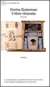Il libro ritrovato - Simha Guterman - copertina