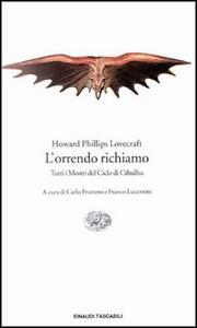 L' orrendo richiamo - Howard P. Lovecraft - copertina