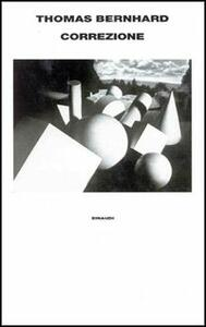 Correzione - Thomas Bernhard - copertina